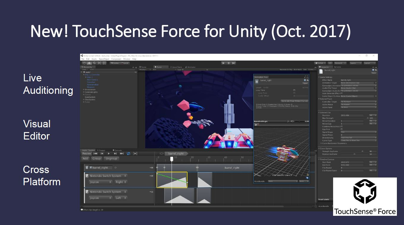 TouchSense Force for Unity