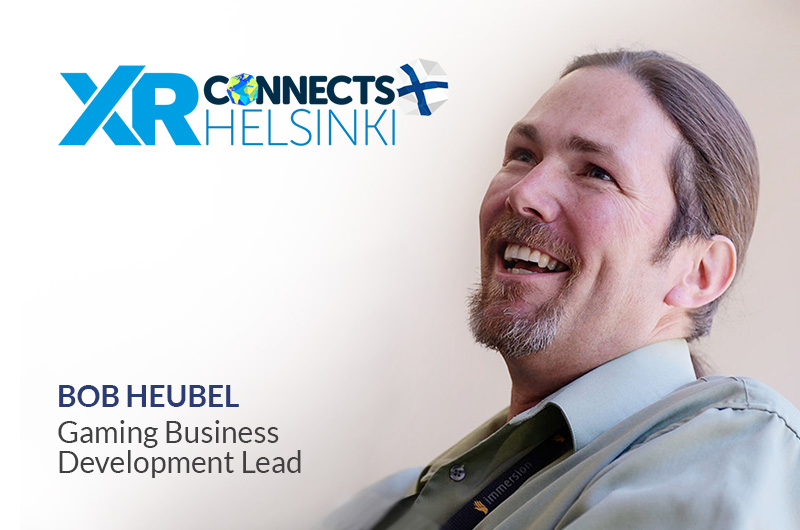 XR Connects Helsinki with Bob Heubel